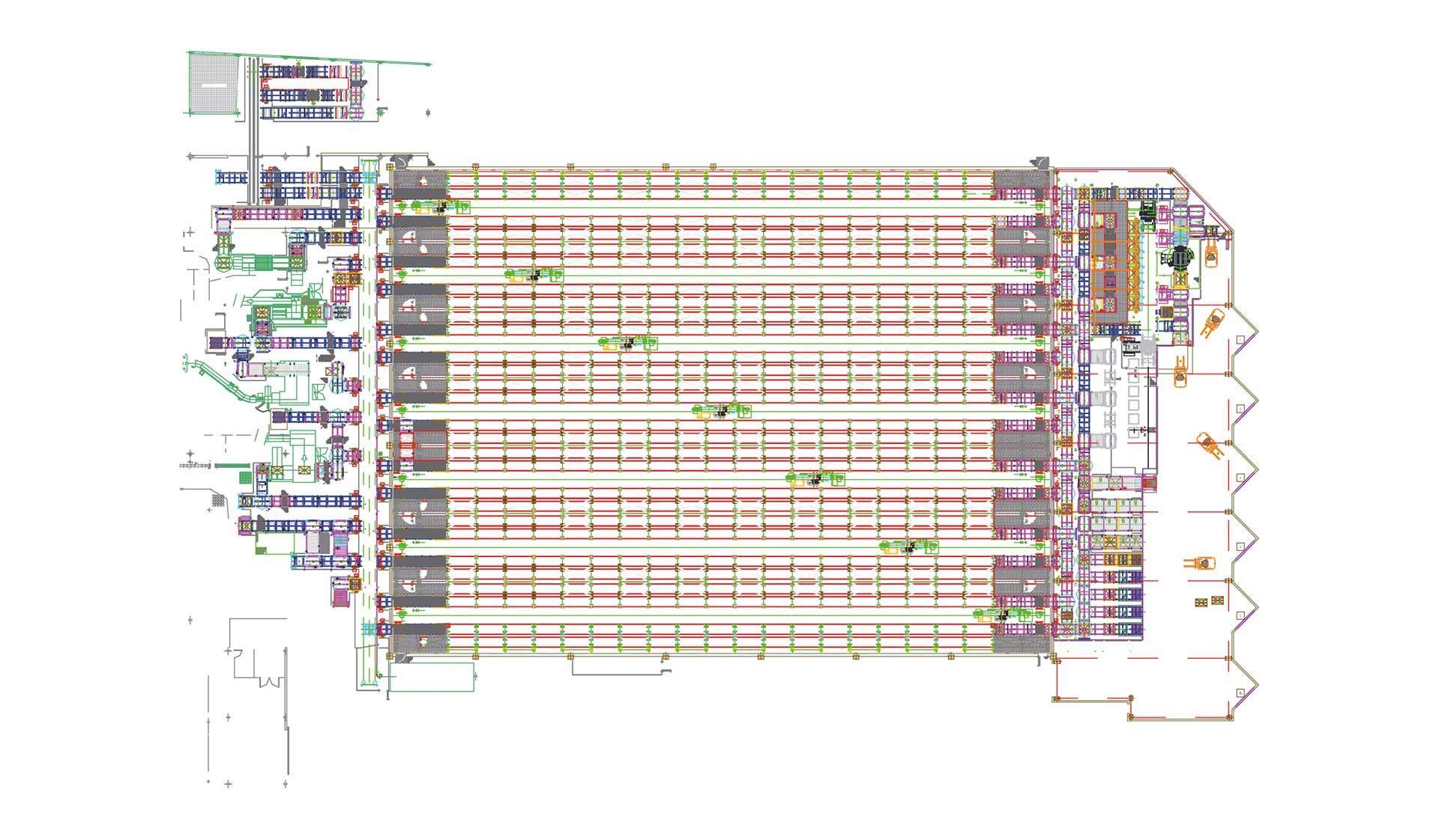 Analyser les zones de l'entrepôt efficacement aide à identifier les éléments à améliorer.