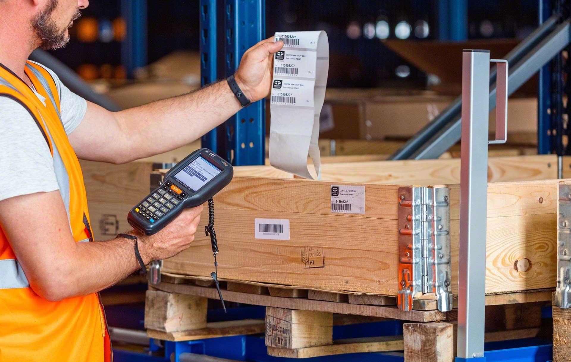 Le code SKU sert à identifier les produits en entrepôt