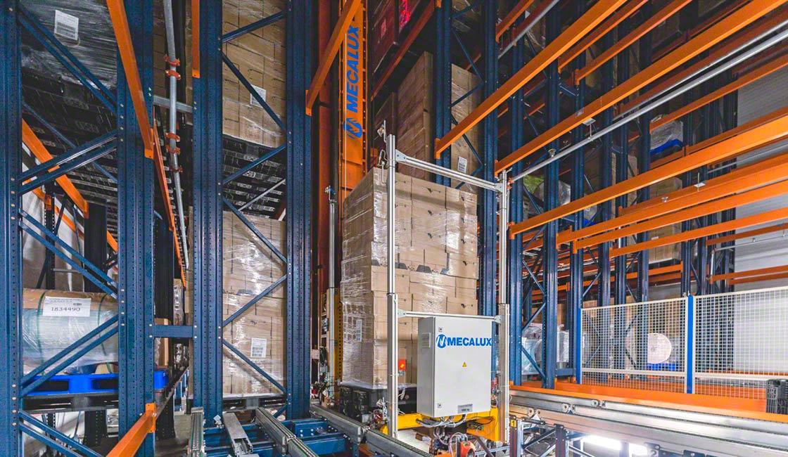 Incarlopsa a fait confiance à Mecalux pour la conception et la mise en œuvre de ses nouvelles installations logistiques