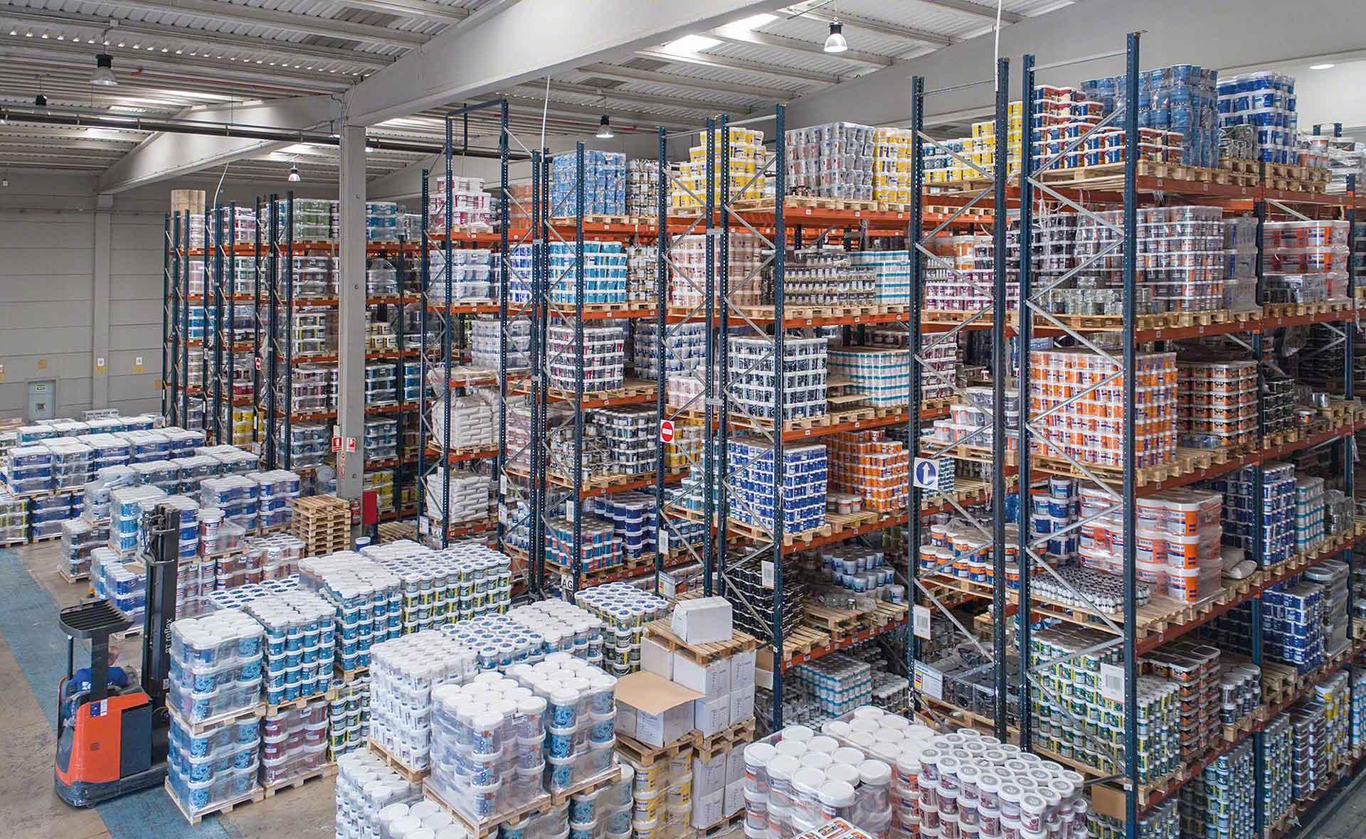 Le nettoyage est indispensable au bon fonctionnement et à la bonne organisation d'un entrepôt