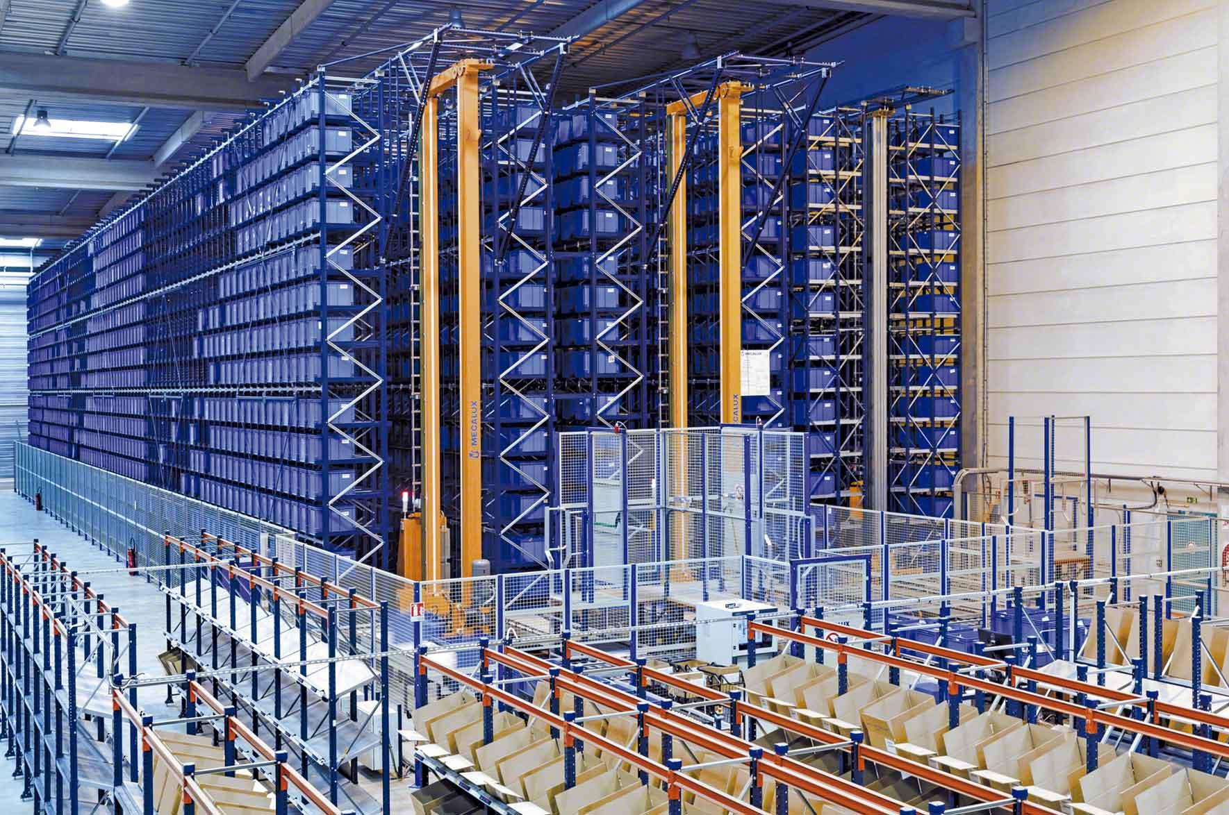LEs différents types d'entrepôts automatisés répondent à des besoins logistiques spécifiques