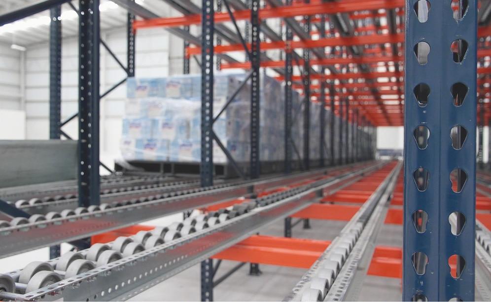 Des rayonnages dynamiques de Mecalux dans les entrepôts de MIYM au Mexique