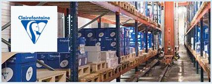 Cas clients : fonctionnement entrepôt entièrement automatique