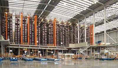 Mecalux finalise avec succès le processus d'automatisation des entrepôts de Porcelanosa Grupo