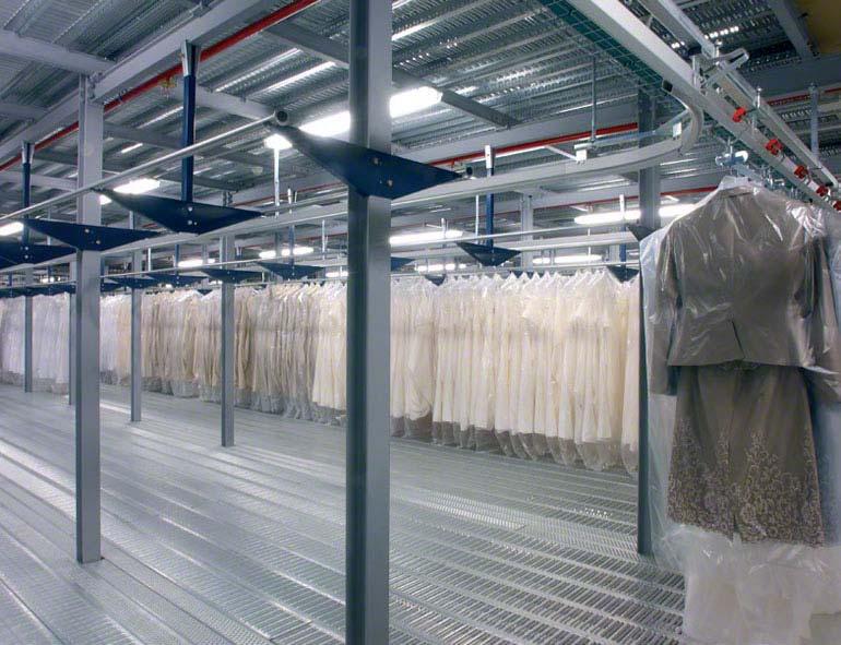 Solution pour vêtements suspendus