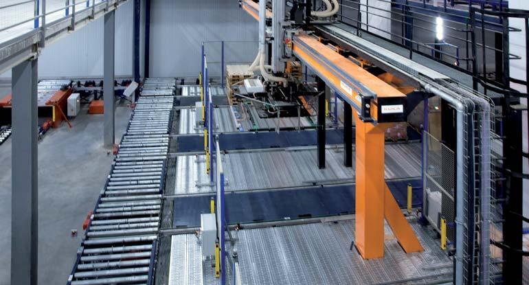 Robot portique à deux axes