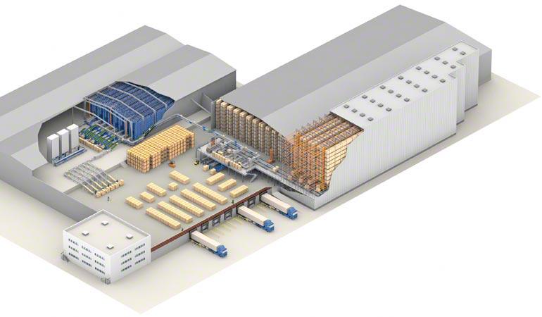 Fonctions d'un entrepôt.
