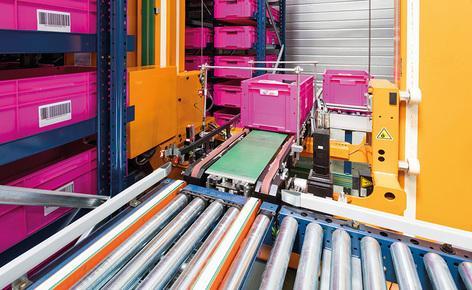 Cette entreprise a fait le choix de l'automatisation en s'équipant du magasin miniload de Mecalux