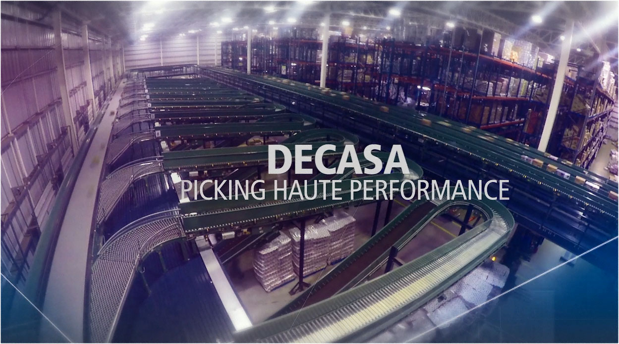 DECASA : Stockage et picking haute performance