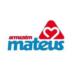 Grande capacité de stockage dans le centre de distribution d'Armazém Mateus au Brésil