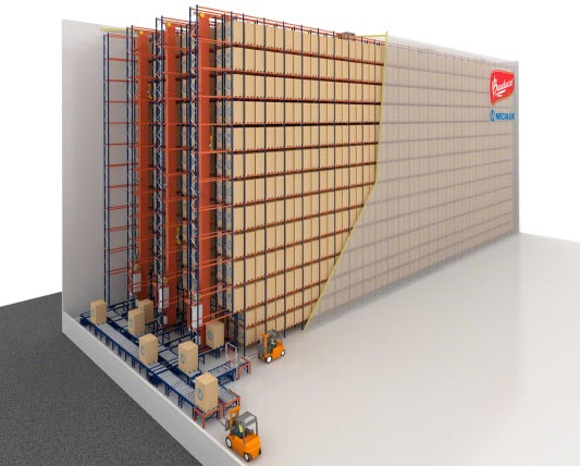 Les panettones de Bauducco au Brésil seront stockés dans un nouvel entrepôt automatisé autoportant