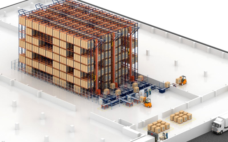 Capacité de stockage et rapidité dans le nouvel entrepôt de biscuits de Desobry