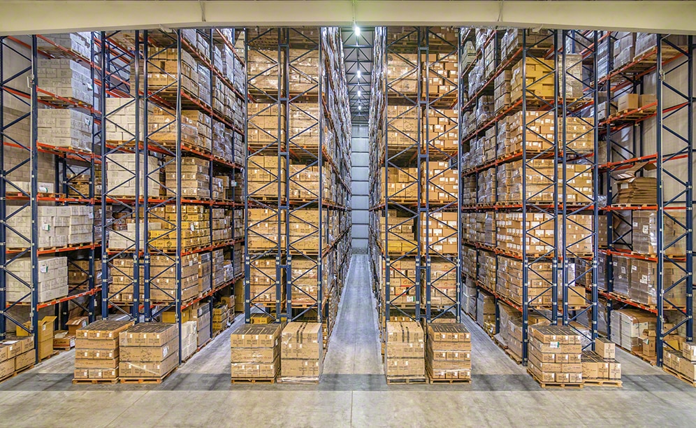 Nouvel entrepôt d'équipements de protection individuelle de Libus en Argentine