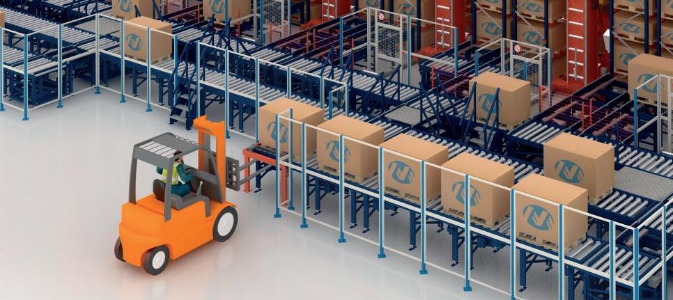 Automatisation de l'entrepôt d'IKEA Components en Slovaquie