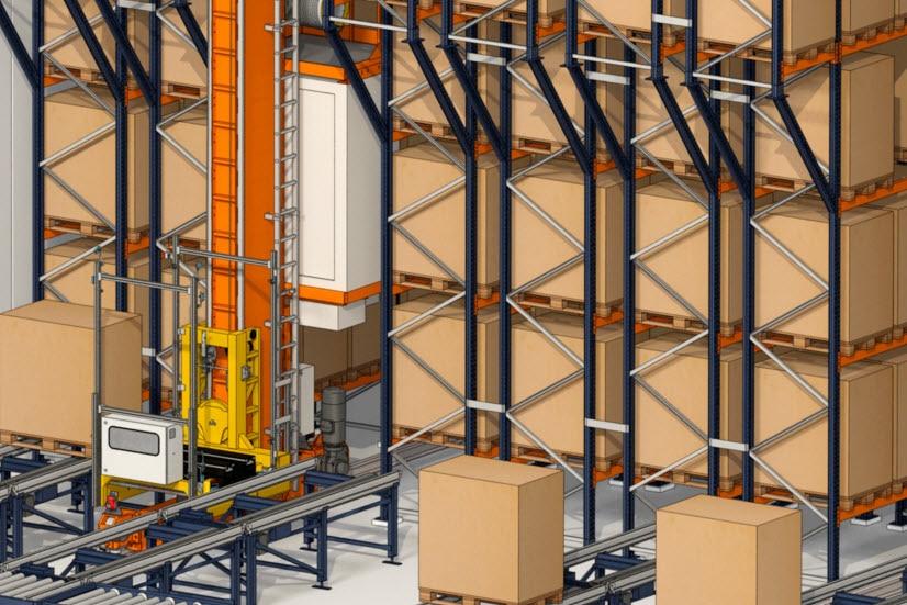 Industrias Yuk construira un entrepôt automatisé pour palettes et caisses