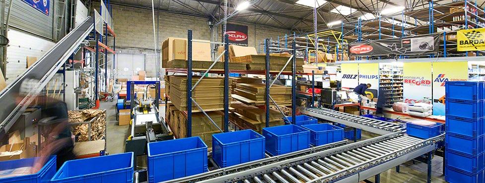 C.D.A.L.: Transport automatique entre l'entrepôt et la zone d'expédition