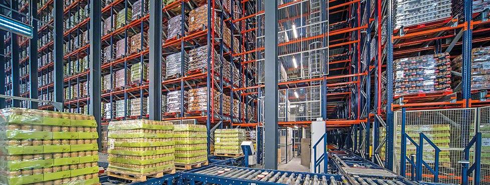 Une gestion efficace des légumes en conserve de Cistér avec un nouvel entrepôt