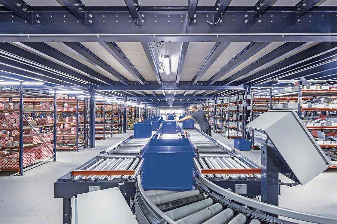 Le picking de commandes issues de la vente en ligne constitue la principale opération des entrepôts micro-fulfillment