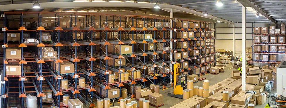Stockage d'équipements d'impression de GM Technology en Espagne