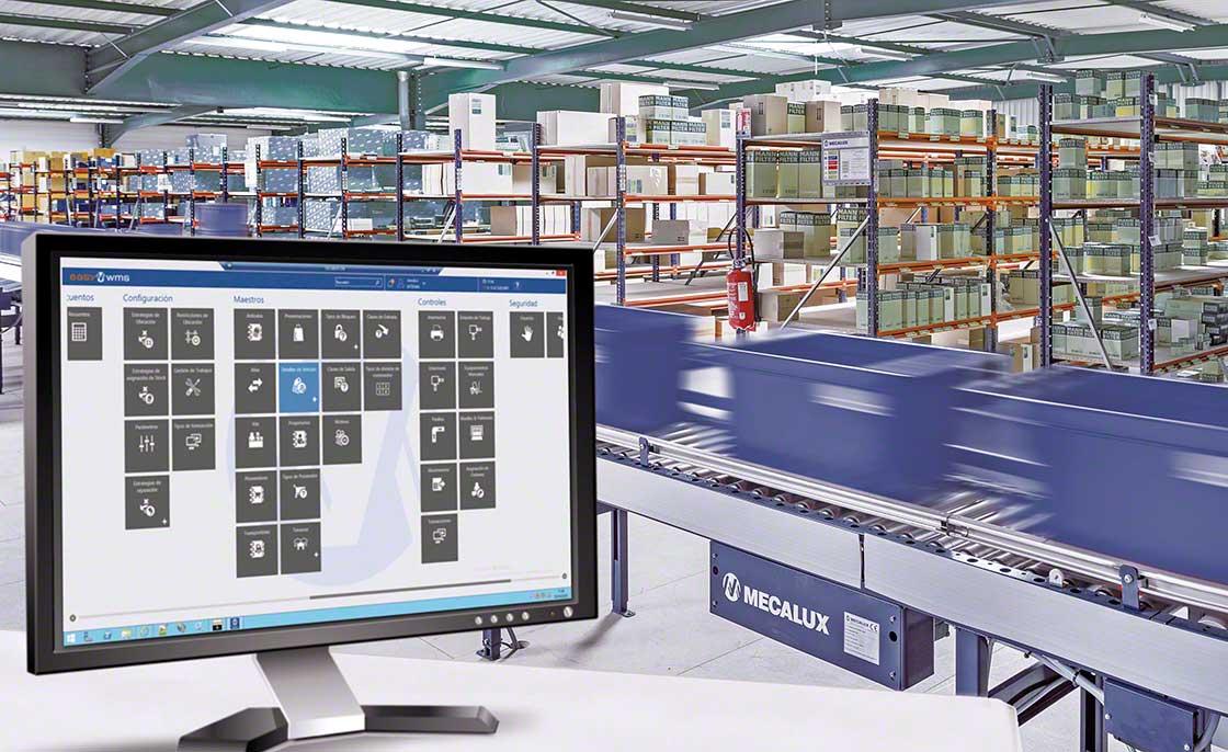 Un WMS dispose d'une nomenclature automatisée et garantit un flux de marchandises efficace entre l'entrepôt et les lignes de production