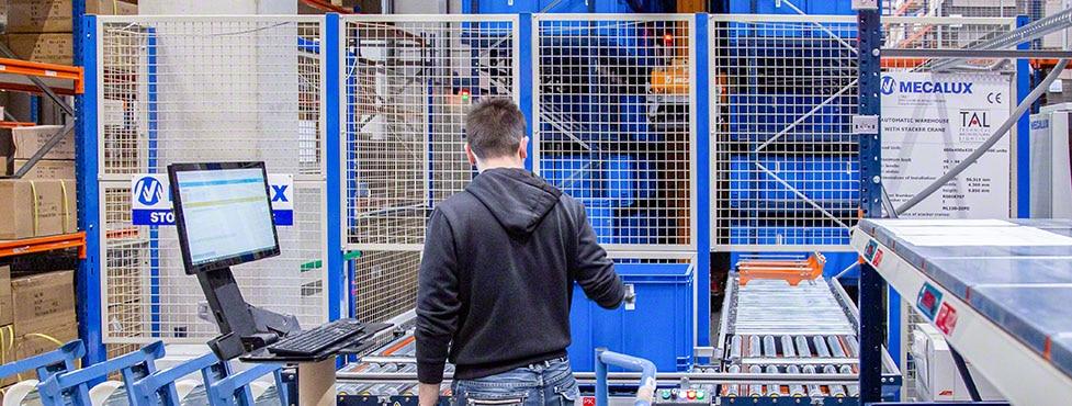 TAL : un entrepôt automatisé qui brille de mille feux