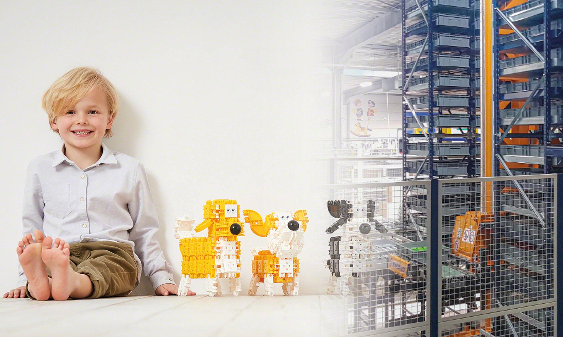 Clics Toys : gestion automatique de 150 millions de pièces fabriquées par an