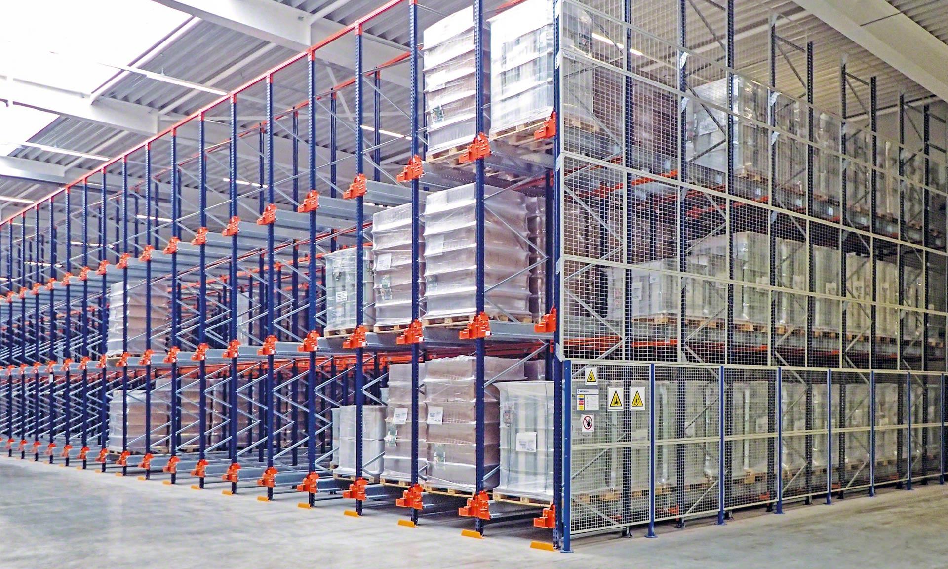 Weddeling optimise l'espace de son nouvel entrepôt en Allemagne