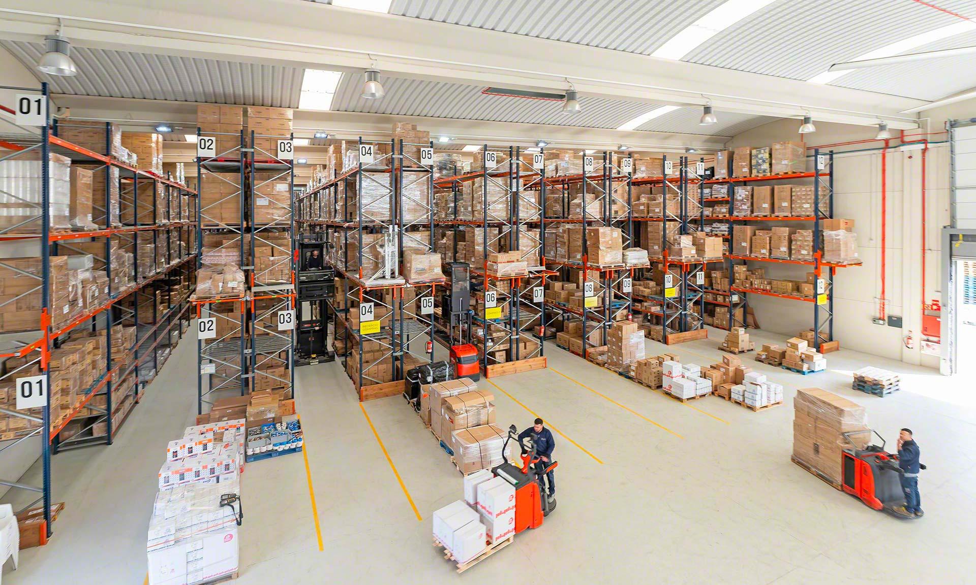 Elektro3 : plus de 14 000 références dans un entrepôt en pleine croissance