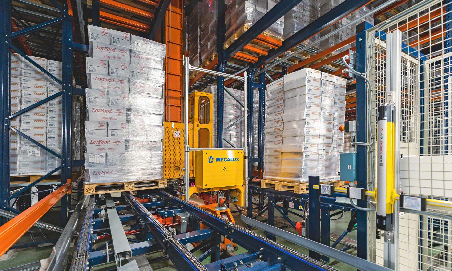 Logistique à basse température : une solution complète pour six entrepôts