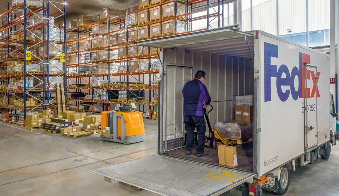 Une bonne organisation de l'entrepôt a un impact positif sur toutes les opérations