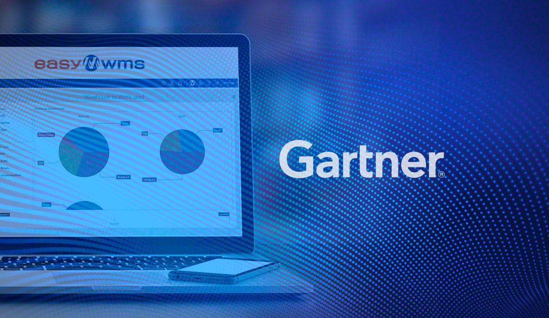 Easy WMS dans le rapport Gartner Magic Quadrant for Warehouse Management Systems